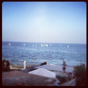 Foto de la vista desde mi balcón