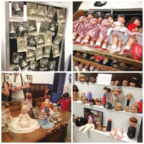 El museo se autofinancia con las ventas de su tienda, que cuenta con juguetes a precios más que asequibles por lo que salimos de allí con una Nancy y varios Playmobils
