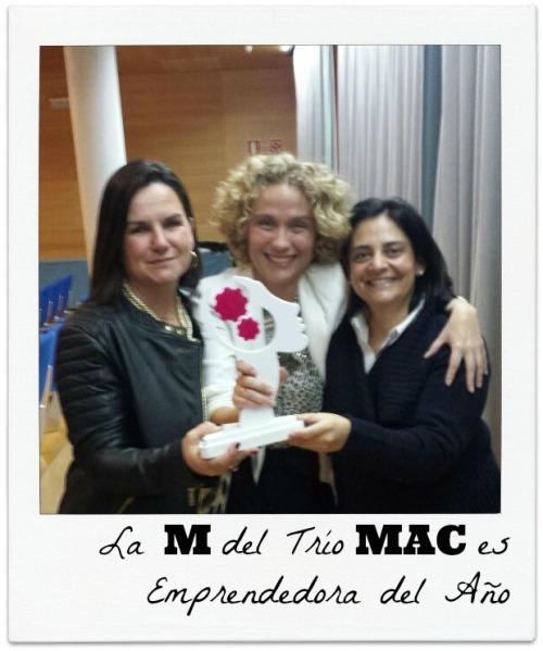 La M del Trío MAC es Emprendedora del Año FELICIDADES