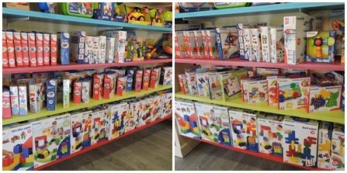 Miniland llena con decenas de referencias diferentes una de las partes de la tienda